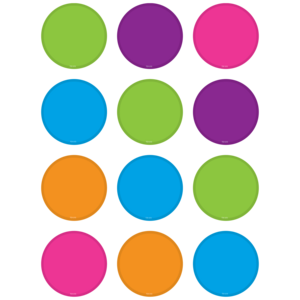 TCR5113 Bright Colors Circles Mini Accents Image