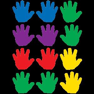 TCR5137 Handprints Mini Accents Image