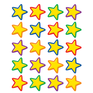 TCR5161 Yellow Stars Stickers Image