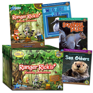 TCR51672 Ranger Rick's Reading Adventures Complete Kit Level A Grades 2-3 Image