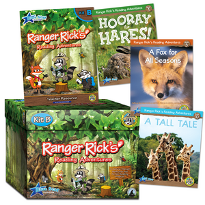 TCR51673 Ranger Rick's Reading Adventures Complete Kit Level B: Grades 3-4 Image