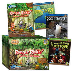 TCR51674 Ranger Rick's Reading Adventures Kit Level C Image