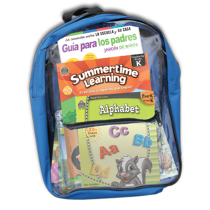 TCR51692 Preparing For Kindergarten Spanish Backpack Image
