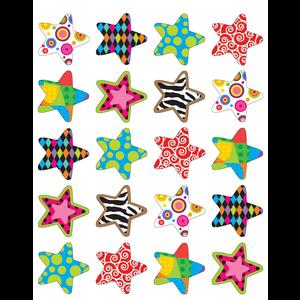 TCR5179 Fancy Stars Stickers Image