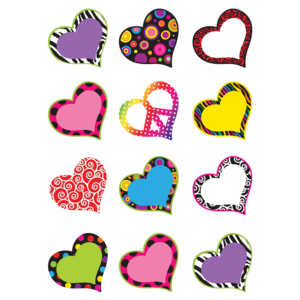 TCR5184 Fancy Hearts Mini Accents Image