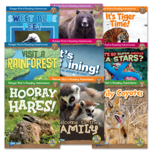 TCR51944 Ranger Rick's Reading Adventures Classroom Library Add-On Pack (30 titles) Image