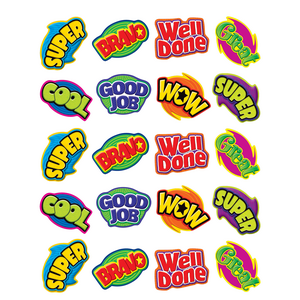 TCR5206 Positive Words Stickers Image