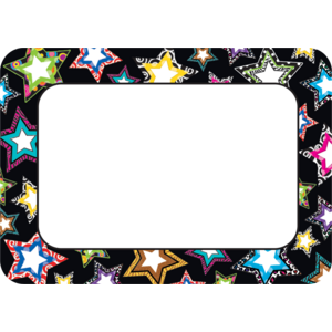 TCR5260 Fancy Stars Name Tags/Labels Image