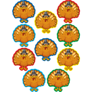 TCR5288 Turkeys Accents Image