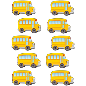 TCR5294 School Bus Accents Image