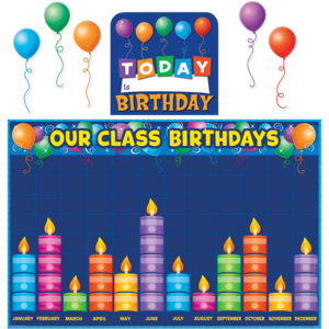 TCR5335 Birthday Graph Bulletin Board Display Set Image