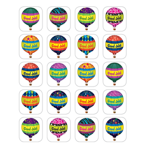TCR5339 Hot Air Balloons Stickers Image