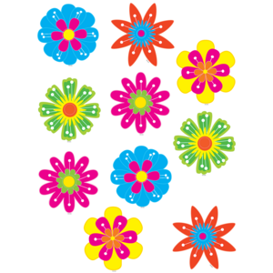 TCR5394 Fun Flowers Accents Image