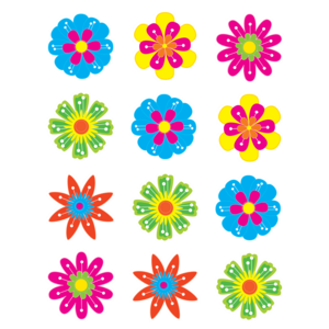 TCR5395 Fun Flowers Mini Accents Image