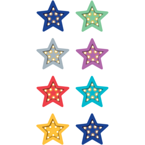 TCR5441 Marquee Stars Mini Stickers Image