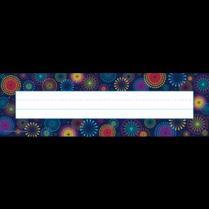 TCR5457 Fireworks Flat Name Plates Image