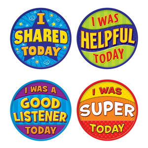 TCR5471 Good Behavior Wear 'Em Badges Image