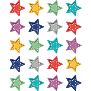 TCR5480 Marquee Stars Stickers Image