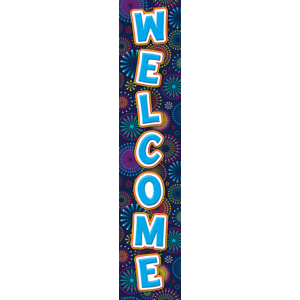 TCR5487 Fireworks Welcome Banner Image