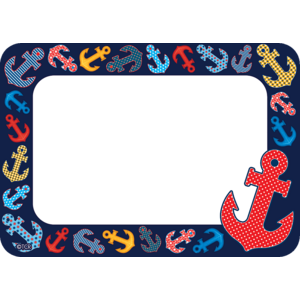 TCR5491 Anchors Name Tags/Labels Image