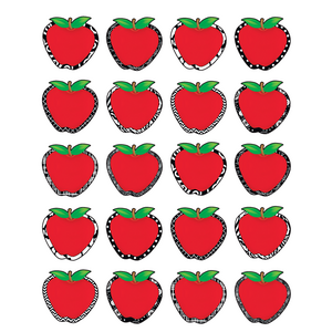 TCR5546 Fancy Apples Stickers Image