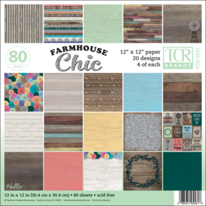 TCR5581 Farmhouse Chic Project Paper Image
