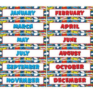 TCR5590 Superhero Monthly Headliners Image