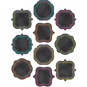 TCR5622 Chalkboard Brights Accents Image