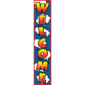 TCR5644 Superhero Welcome Banner Image
