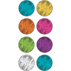 TCR5645 Colorful Chalk Mini Stickers Image