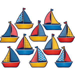 TCR5656 Sailboats Accents Image