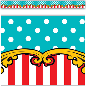 TCR5705 Carnival Straight Border Trim Image