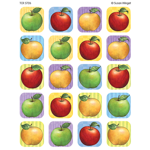 TCR5726 Apple Stickers from Susan Winget Image