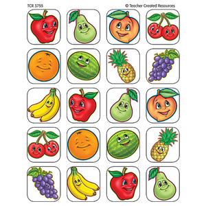 TCR5755 Fruits Stickers Image