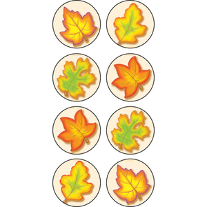 TCR5769 Fall Mini Stickers Image