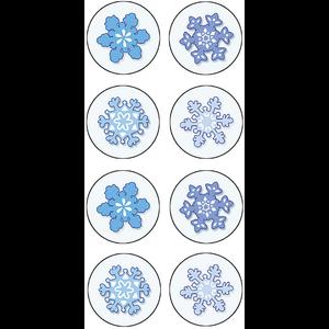 TCR5770 Winter Mini Stickers Image