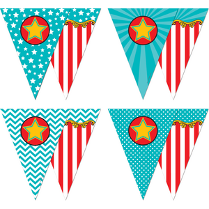 TCR5808 Carnival Pennants Image