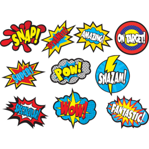 TCR5835 Superhero Sayings Accents Image
