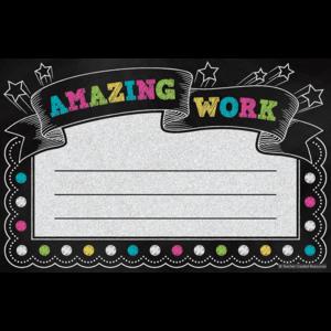 TCR5836 Chalkboard Brights Amazing Work Awards Image