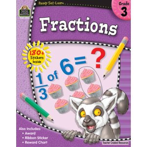 TCR5913 Ready-Set-Learn: Fractions Grade 3 Image