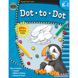 TCR5914 Ready-Set-Learn: Dot to Dot Grade K-1 Image