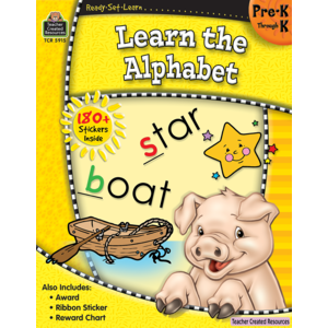 TCR5915 Ready-Set-Learn: Learn the Alphabet PreK-K Image