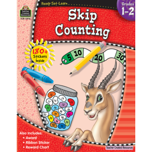TCR5916 Ready-Set-Learn: Skip Counting Grade 1-2 Image