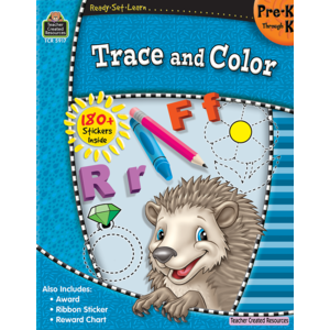 TCR5917 Ready-Set-Learn: Trace and Color PreK-K Image