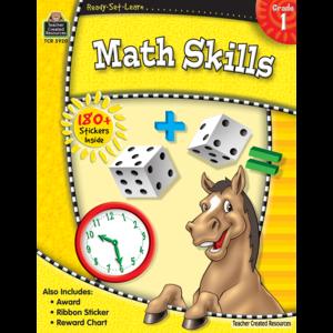 TCR5920 Ready-Set-Learn: Math Skills Grade 1 Image