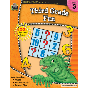 TCR5924 Ready-Set-Learn: 3rd Grade Fun Image