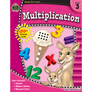 TCR5928 Ready-Set-Learn: Multiplication Grade 3 Image
