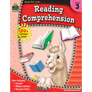 TCR5929 Ready-Set-Learn: Reading Comprehension Grade 3 Image
