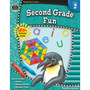TCR5936 Ready-Set-Learn: Second Grade Fun Image
