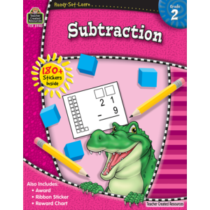 TCR5940 Ready-Set-Learn: Subtraction Grade 2 Image